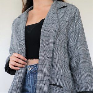 Brand New! Glen Plaid Jacket (S)